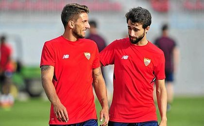El brazalete del Sevilla se llevará en la defensa