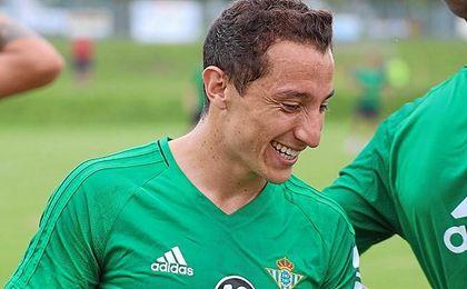 Guardado ha sido el protagonista en la televisión del club.