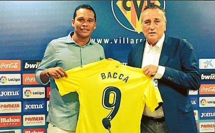 """Bacca: """"Cuando me llamó el Villarreal no lo dudé"""""""