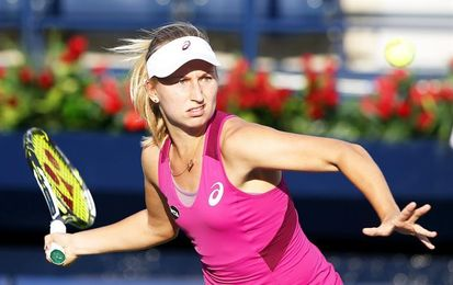Gavrilova elimina a la campeona, Radwanska, y jugará la final de New Haven con Cibulkova