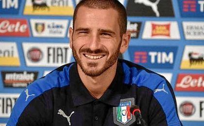 "Bonucci: ""Italia está preparada para sorprender a España"""