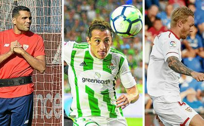 Guardado, Kjaer y Mercado en el once ideal de la jornada 2