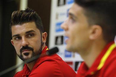 """Villa: """"Vuelvo con el rol de siempre, pero jugar me lo tengo que ganar"""""""