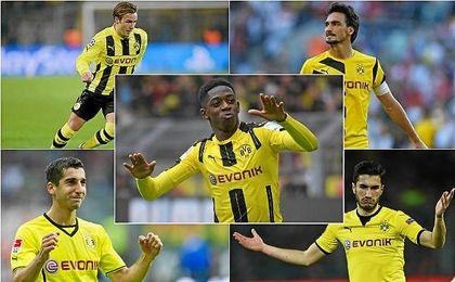 Mkhitaryan, Kagawa, Hummels, Götze... todos salieron del Dortmund por un alto coste.
