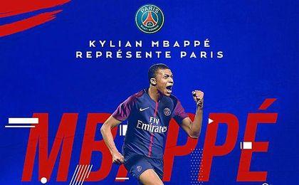 El PSG anuncia el fichaje de Kylian Mbappé