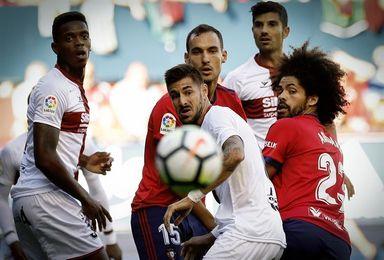 1-1. Osasuna, sin triunfo en 50 aniversario Sadar al encajar en el minuto 87