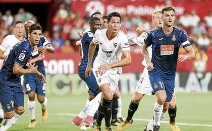 Ganso, que ha perdido peso y mejorado físicamente, quiere consolidarse en el Sevilla en su segunda temporada de blanquirrojo.