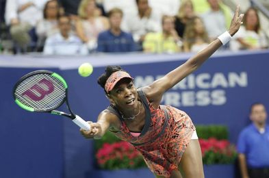 Venus Williams vuelve a semifinales del Abierto de Estados Unidos y jugará ante Stephens