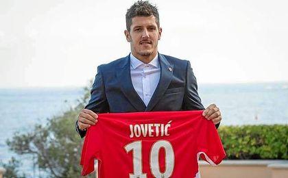 Jovetic ha sido presentado con el AS Monaco.