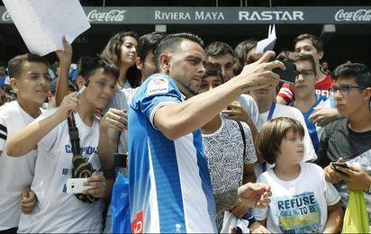 """Sergio García: """"Cuanto más ruido escuche en el Camp Nou, más motivado estaré"""""""