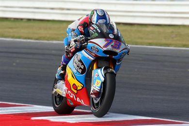Alex Márquez, mejor tiempo en Moto2, camilla y ambulancia
