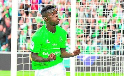 A sus 21 años, Jonathan Bamba es un fijo en el Saint-Étienne, con que el lleva dos goles y una asistencia.