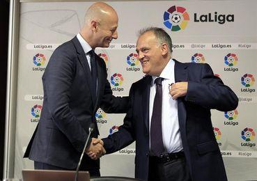 """Tebas: """"No vamos a cambiar el Barcelona-Las Palmas por un tema de ilegalidad"""""""