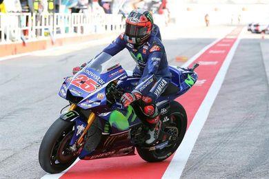 Viñales suma su cuarta mejor clasificación del año, Márquez se cae