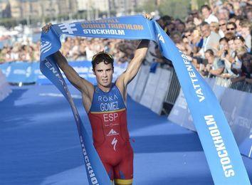 Javier Gómez Noya, campeón del mundo de medio ´ironman´ en Chattanooga