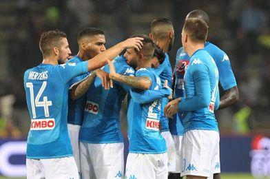El Nápoles golea 3-0 en Bolonia con gol y asistencia del español Callejón