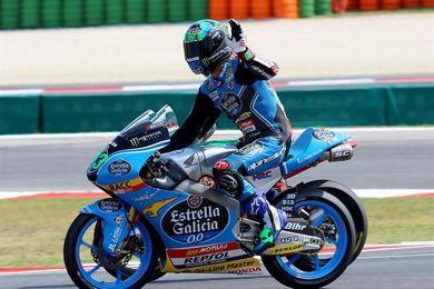 Veintitrés pilotos sancionados en Moto3, Bastianini pierde el primer puesto