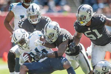13-26. Carr volvió inspirado y ganador con los Raiders ante Mariota