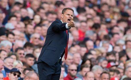 Frank de Boer destituido como entrenador del Crystal Palace