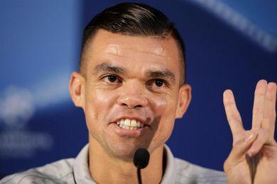 Pepe dice que no sintió tristeza por su marcha del Real Madrid