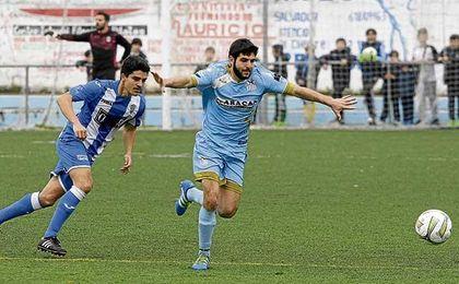 Jero Baena, que la pasada campaña hizo 22 goles, anotó sus dos primeras dianas el domingo.