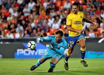 Vitolo podría reaparecer con la UD Las Palmas el domingo ante el Athletic