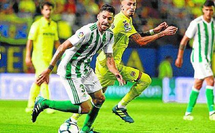El aterrizaje de Javi García ha mejorado la circulación de balón en el Betis.