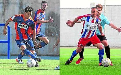 Miguel Blázquez, a la izquierda, y Francisco Ávalo, a la derecha, encabezan a sus respectivos equipos, un Cerro y un Morón C.F. que son colíderes.