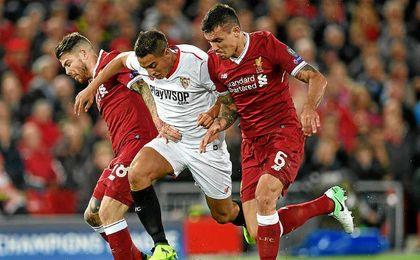Liverpool 2-2 Sevilla FC: Puntazo en Anfield