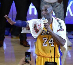 El número de Kobe Bryant será retirado por los Lakers el próximo 18 diciembre