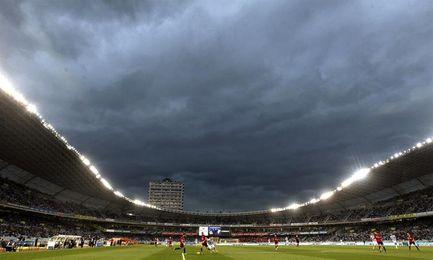 La Real instala una grada supletoria para los partidos del Rosenborg y Madrid
