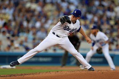 7-0. Wood trabaja sólido y los Dodgers siguen a la caza de la División