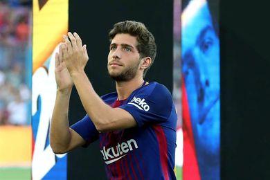 Sergi Roberto por Semedo, única novedad del Barcelona para jugar en Getafe