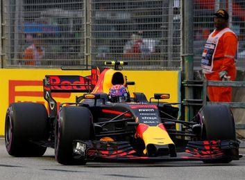Verstappen (Red Bull) lidera los terceros entrenamientos libres en Singapur