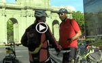 Ciclistas pedalean en Madrid contra los atropellos