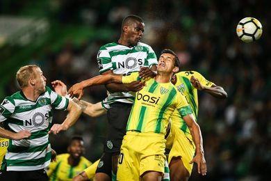 El Sporting es líder tras vencer al Tondela (2-0)