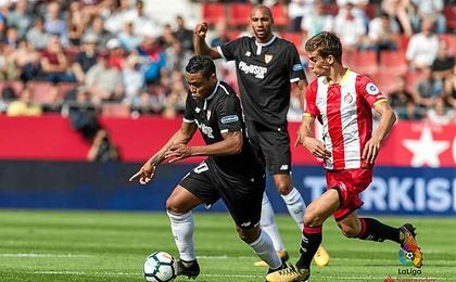 Muriel se ha estrenado como goleador con el Sevilla.
