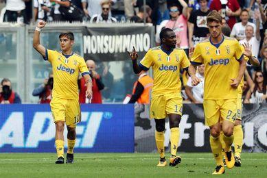 Paulo Dybala decide con tres goles la visita del Juventus al Sassuolo (1-3)