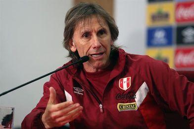 El 97 % de los peruanos apoya a Gareca antes de enfrentar a Argentina y Colombia