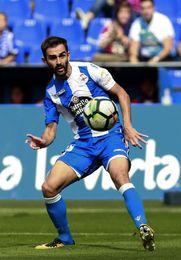 Adrián López se lesiona en último entrenamiento y no estará ante el Alavés