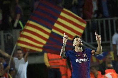 Messi se destaca con 9 goles tras hacerle un póquer al Eibar