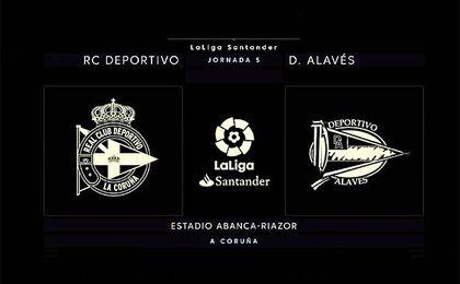 Deportivo-Alavés, en directo
