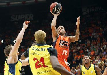 El Valencia Basket, vigente campeón de la Liga Endesa, se presenta ante su afición