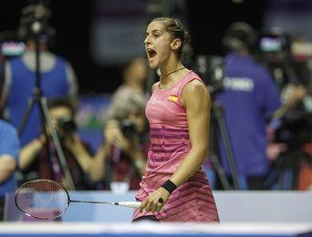 Carolina Marín derrotó en dos sets a Yamaguchi y pasa a semifinales en Tokio