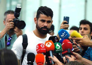 """Diego Costa ya está en Madrid: """"Ha tardado demasiado pero es un final feliz"""""""