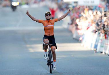 Chantal Blaak remata el gran trabajo de Holanda y se lleva el oro