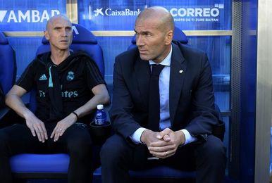 """Zidane: """"No es un momento brillante y hay que aguantar"""""""