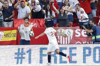 Nolito podría volver a jugar con el Sevilla F.C. en el partido de Champions ante el Maribor.