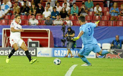 Sevilla FC 3-0 Maribor: Ben Yedder marca el paso en la Champions