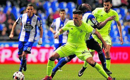 El Betis fue eliminado en su primera ronda el año pasado por el Deportivo.